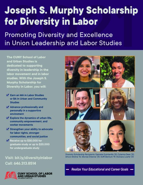 SLU Scholarship for Diversity in Labor