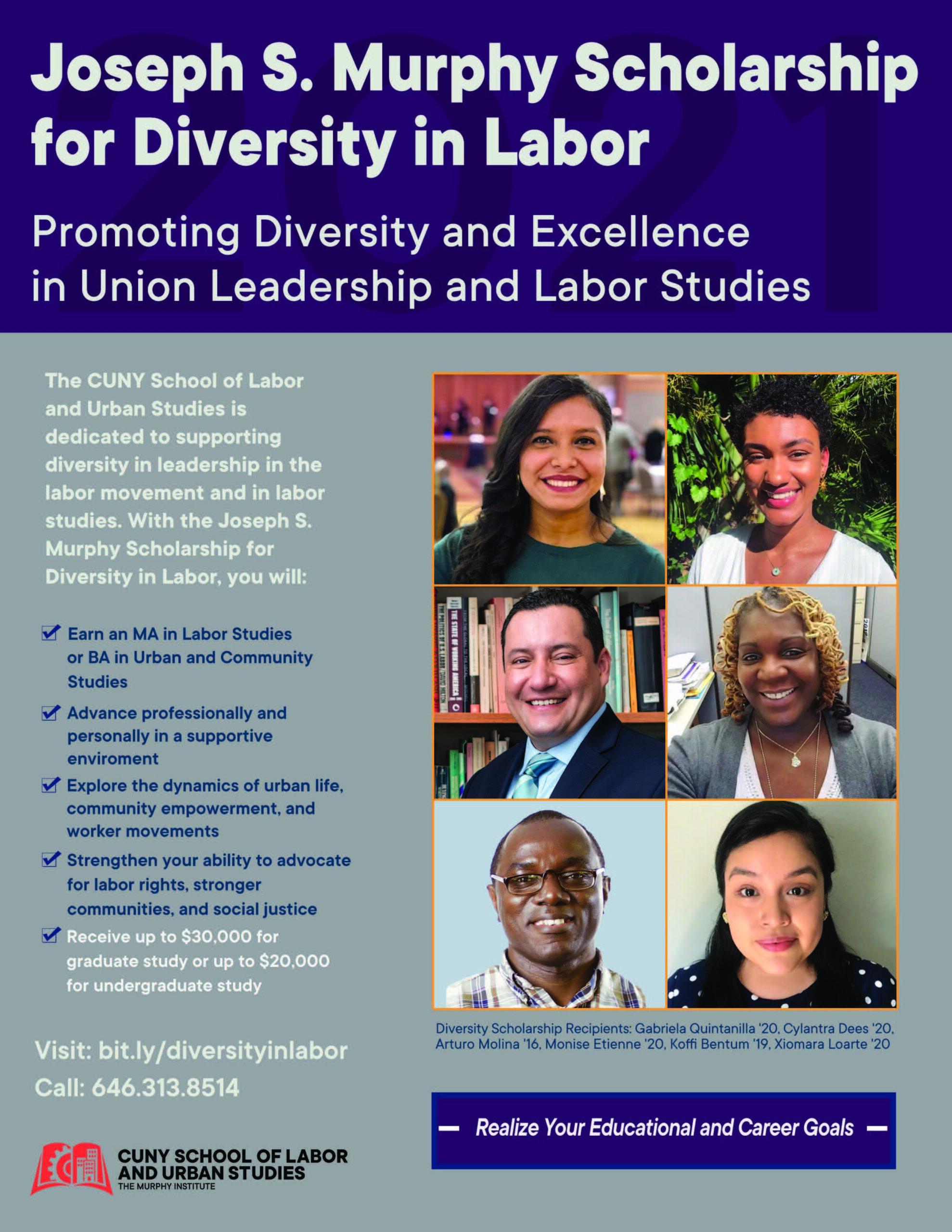 SLU Scholarship for Diversity in Labor
