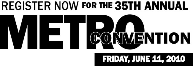 Register now for the 35th Annual Metro Convention