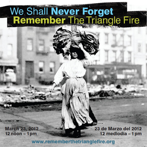 Triangle Fire Commemoration